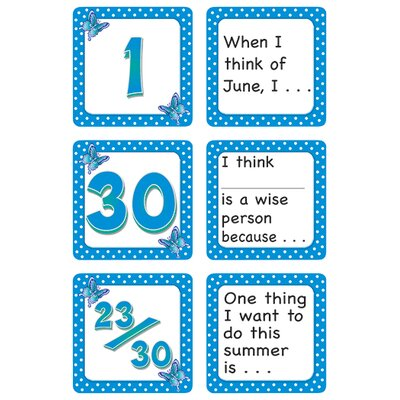 Teacher Created Resources June Polka Dots Calendar Days Story