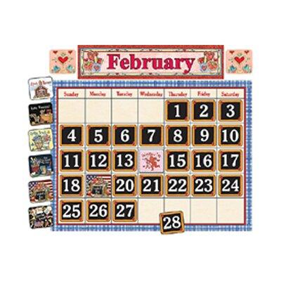 Teacher Created Resources School Time Calendar Bulletin Brd