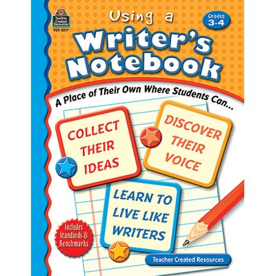 Teacher Created Resources Using A Writers Notebook Gr 3-4