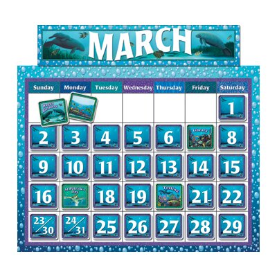 Teacher Created Resources Wy Classroom Calendar Bb