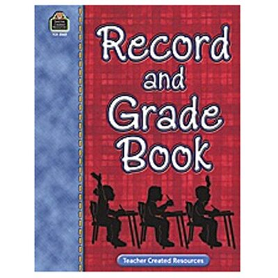 Teacher Created Resources Record And Gr Book