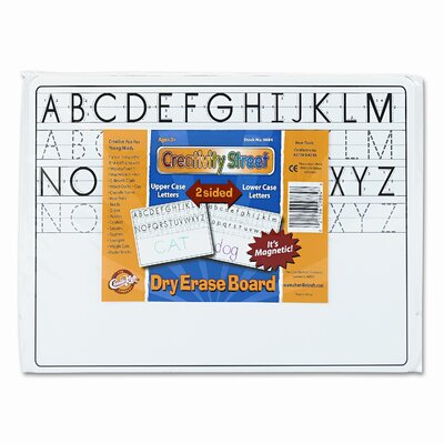 """The Chenille Kraft Company Magnetic Dry Erase 9"""" x 1' Whiteboard"""