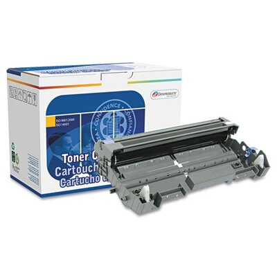 TONER FOR COPY&FAX,RIBBONS                         Dataproducts DPSDPCDR360 Reman High-Yield Drum, 12000 Page-Yield