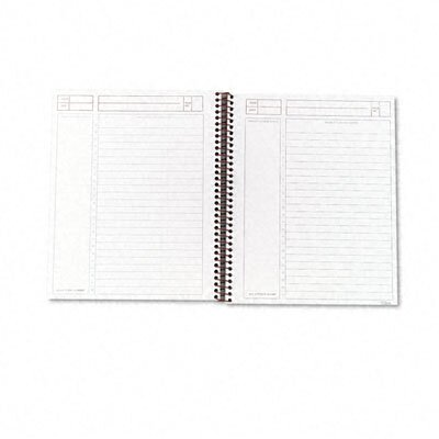 Tops Business Forms Journal Entry Notetaking Planner Pad, Ruled, 100 Sheets
