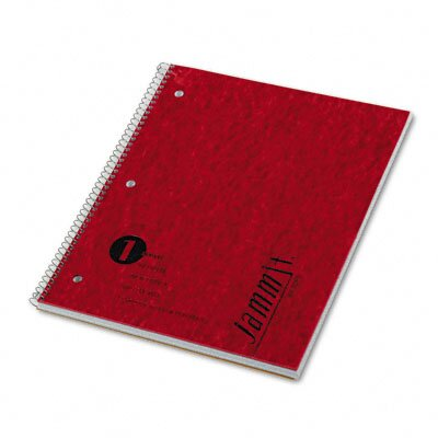 Tops Business Forms Jammit Pocket Wirebound Notebook, Ruled, 100 Sheets/Pad
