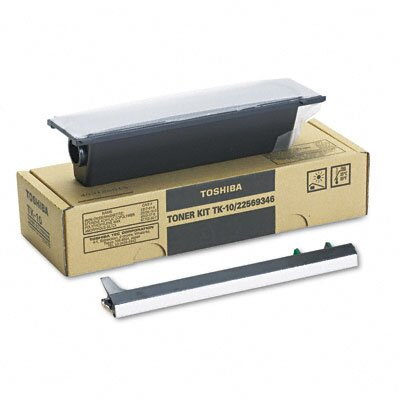 Toshiba TK10 Laser Cartridge, Black