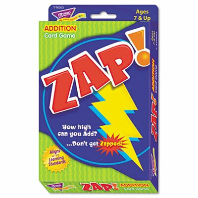 Trend Enterprises Zap Math Card Game