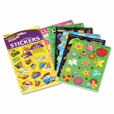 Trend Enterprises Stinky Stickers Variety Pack, Good Times, 535/Pack