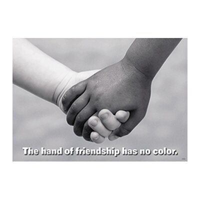 Trend Enterprises Poster The Hand Of Friendship