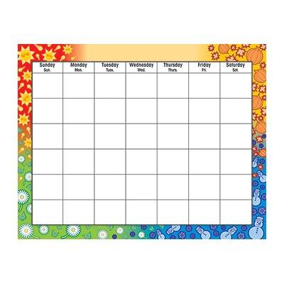 Trend Enterprises Wipe-off Chart Calendar 22 X 28