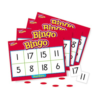 Trend Enterprises Bingo Numbers Ages 4 & Up