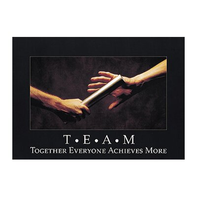 Trend Enterprises Poster T.e.a.m. Together Everyone