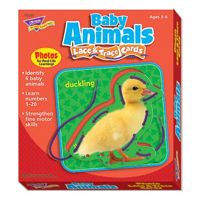 Lace Trace N Play Baby Animals