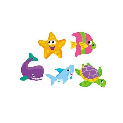 Trend Enterprises Supershapes Sea Life Stickers