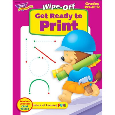 Trend Enterprises Get Ready To Print 28pg Wipe-off