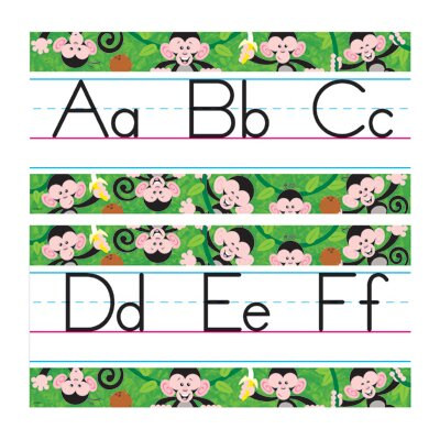 Trend Enterprises Bb Set Monkey Mischief Manuscript