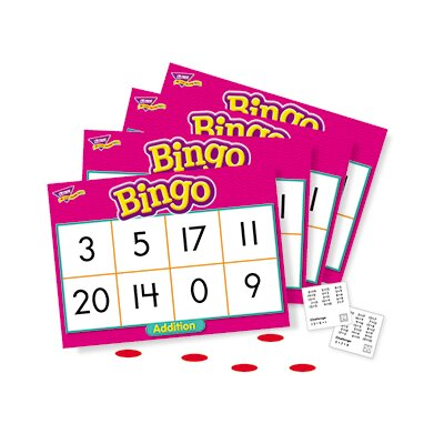 Trend Enterprises Bingo Addition Ages 6 & Up