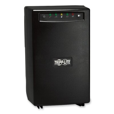 Tripp Lite Smart1500 Smartpro Tower 1500Va Ups 120V with Usb, Db9, 6 Outlet