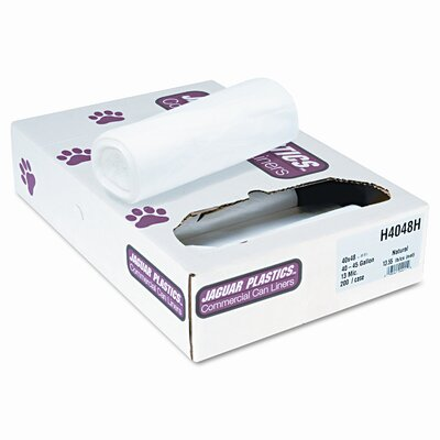 Jaguar Plastics® Heavy Grade Can Liners, 200/Carton