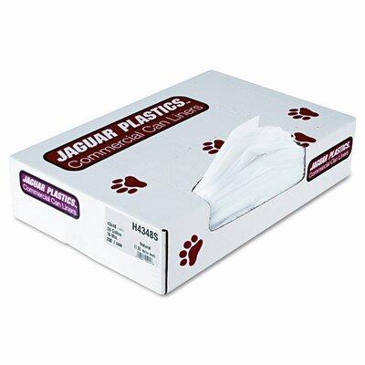 Jaguar Plastics® Super Extra-Heavy Liners, 200/Carton