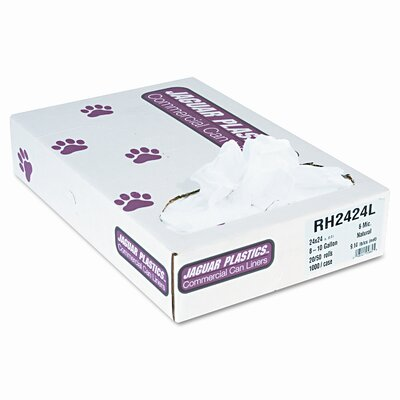 Jaguar Plastics® Regular Liners, 1000/Carton