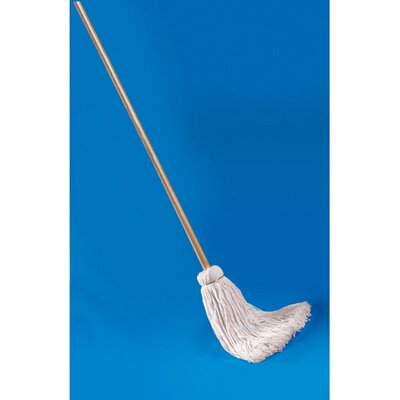 Unisan Deck Mop with Wooden Handle