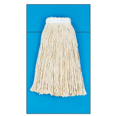 Unisan Cotton Fiber Cut-End Mop Head in White