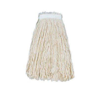 Unisan Cut-End Mop Head with Premium Standard Head in White