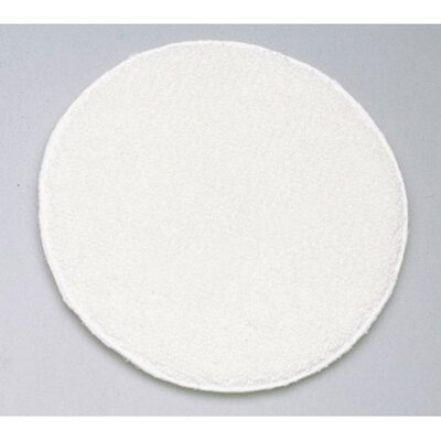 "Unisan 19"" Diameter Rotary Yarn Carpet Bonnet in White"