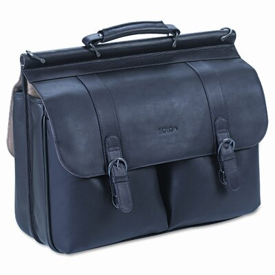UNITED STATES LUGGAGE                              Solo Leather Laptop Case