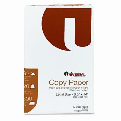 Universal® Copy Paper, 20 lbs, 5000 Sheets/Carton