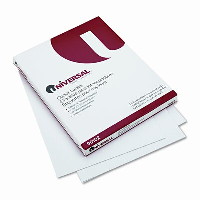 Universal® Address Labels for Copiers, 3300/Box