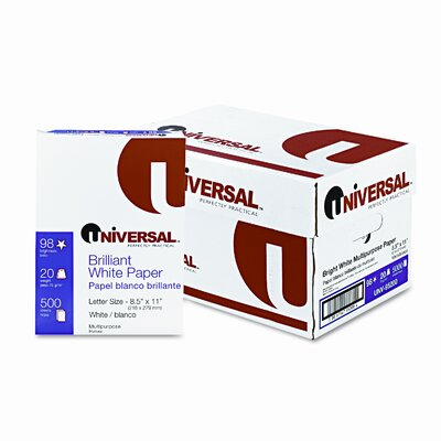 Universal® Multipurpose Paper, 5000 Sheets/Carton