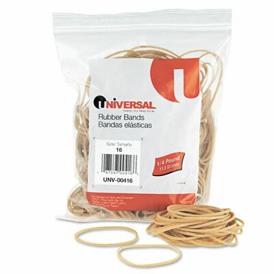 Universal® Rubber Bands, 475 Bands/0.25 lb Pack