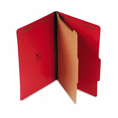 Universal® Pressboard Classification Folder, Legal, 10/Box