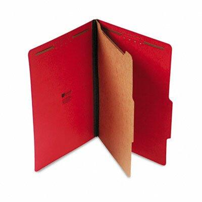 Universal® Pressboard Classification Folder, Legal, 10/Box
