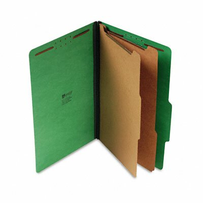 Universal® Pressboard Classification Folders, 10/Box