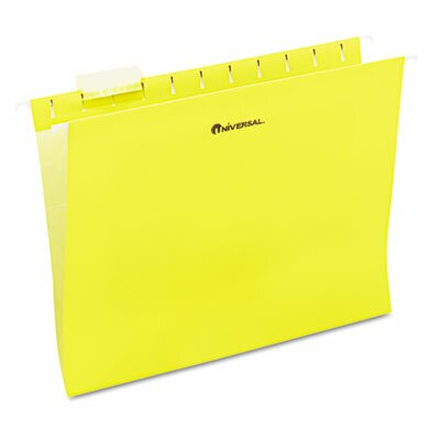 Universal® Hanging File Folders, 25/Box