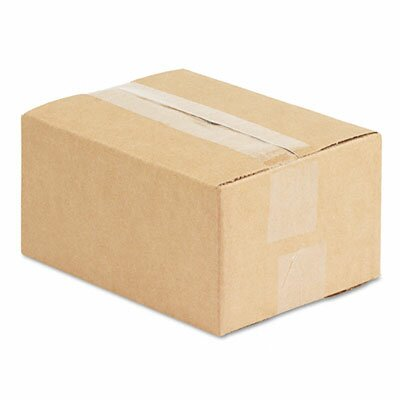 "Universal® Corrugated Kraft Fixed-Depth Shipping Carton, 25/Bundle (22.5"" H x 10.5"" W x 7"" D)"