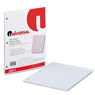 Universal® Mediumweight 16-Lb. Filler Paper, 100 Sheets/Pack