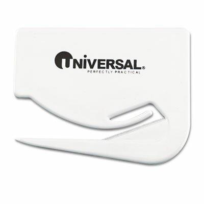 Universal® Letter Slitter Hand Letter Opener with Concealed Blade, 3/Pack