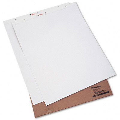 Universal® Recycled Easel Pads, 50-Sheet 2/Carton