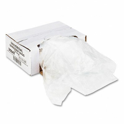 Universal® High-Density Shredder Bags, 100 Bags/Carton
