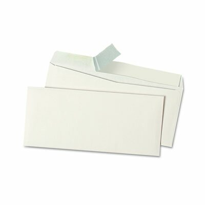 Universal® Peel Seal Strip Business Envelope, #10, 500/Box