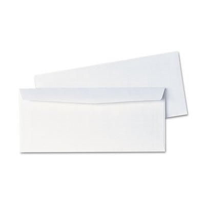 Universal® Side Seam Business Envelope, #10, 500/Box