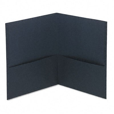 Universal® Two-Pocket Portfolio, 25/Box