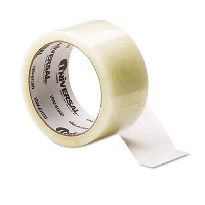 Universal® Box Sealing Tape, 6/Box
