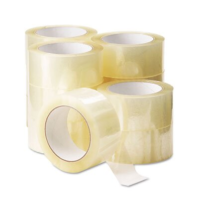 Universal® Box Sealing Tape, 12/Pack