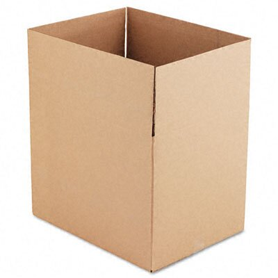 Universal® Corrugated Kraft Fixed-Depth Shipping Carton, 10/Bundle