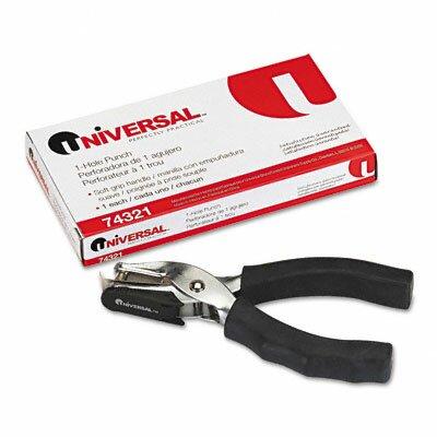 "Universal® Eight-Sheet Handheld 0.25"" Hole Punch"